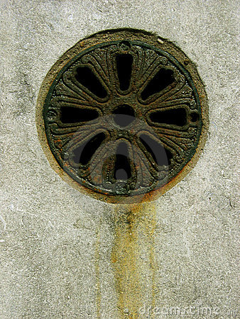 Free RUSTY DRAIN Stock Images - 634894
