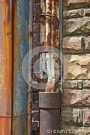 Rusty Drain Pipe