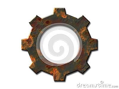 Rusty gear