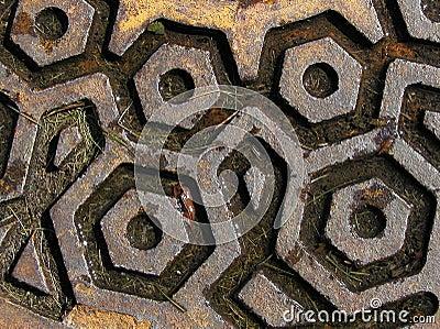 Rusty Manhole