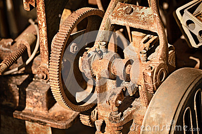 Rusty metal mechanism