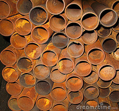 Free Rusty Metal Pipes Stock Images - 4881774