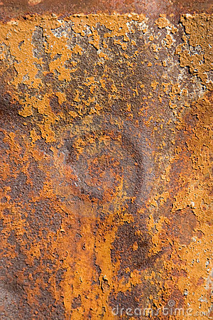 Rusty metal, showing rust textures