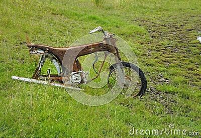 Rusty Motorbike