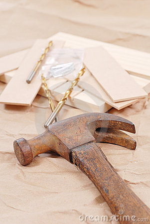 Free Rusty Old Hammer Royalty Free Stock Images - 20087549