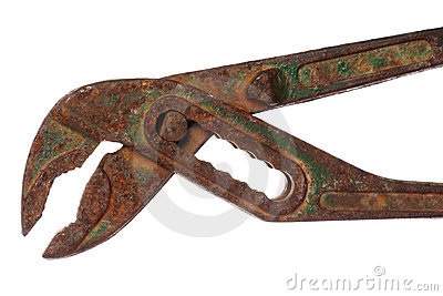 Rusty Old Pliers