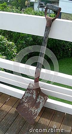 Rusty Old Shovel