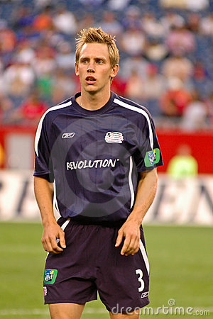 Rusty Pierce New England Revolution Editorial Stock Image