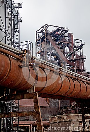 Free Rusty Pipes And Construction Stock Images - 30926434