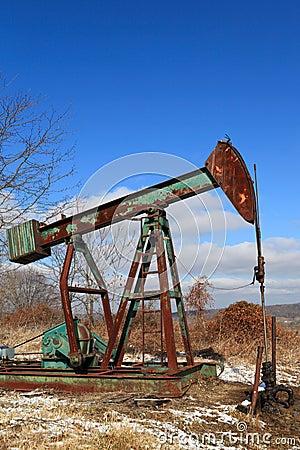 Rusty pump jack