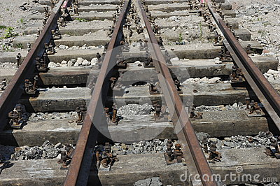 Rusty  Railway Track