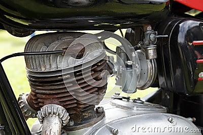 Retro motorcycle engine