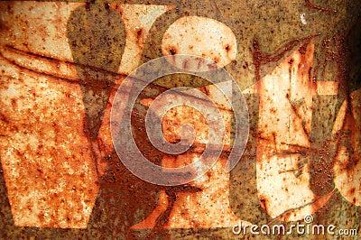 Rusty stencil
