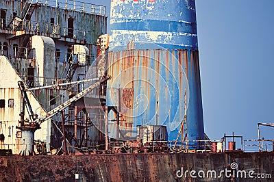 Rusty Tanker