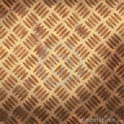 rusty Tread plate background