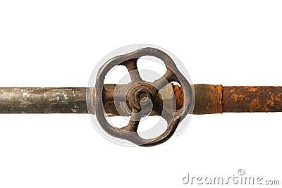 rusty valve