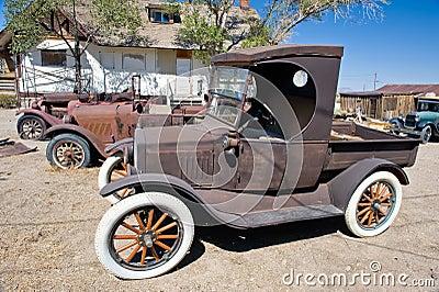Rusty Vintage Cars
