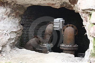 Rusty Water Pipes Stock Images - Image: 13857774