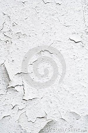 Rusty white wall