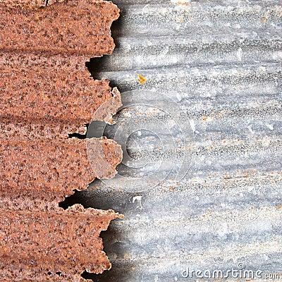 Rusty zinc