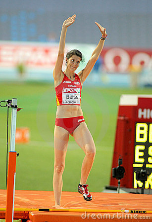 Ruth Beitia of Spain Editorial Image