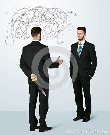 Free Ruthless Business Concept Stock Photo - 47615020