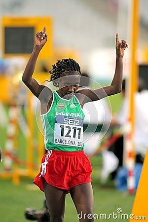 Ruti Aga of Ethiopia Editorial Stock Photo