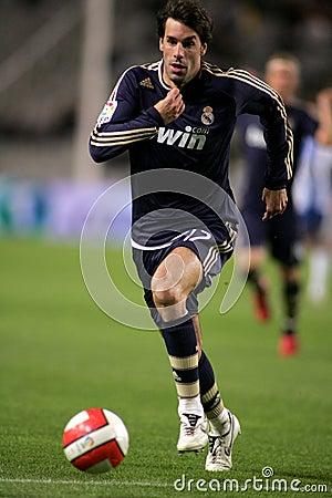 Ruud van Nistelrooy of Real Madrid Editorial Photo
