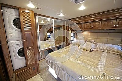 Rv Bedroom Stock Photo Image 38800383