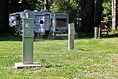 RV Hook-up Pedestals