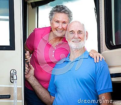 RV Senior Couple