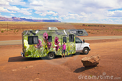 RV Vacation Travel America West