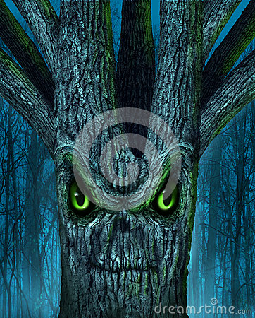 Árvore assombrada