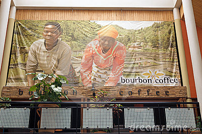 Rwandan coffee Editorial Photography