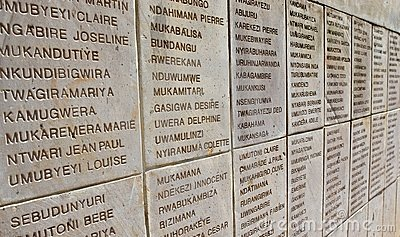Rwandan genocide Editorial Stock Photo