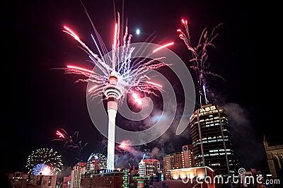RWC Fireworks Editorial Photography