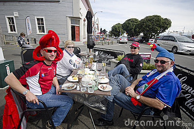 RWC supporters Editorial Stock Image