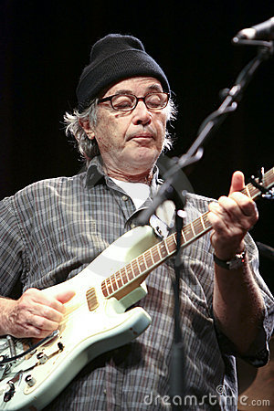 Ry cooder on stage 2 Editorial Image