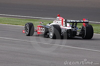 Ryan Briscoe Indianapolis 500 Pole Day 2011 Rear 6 Editorial Stock Image