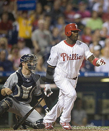 Ryan Howard Editorial Stock Photo