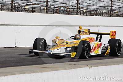 Ryan Hunter-Reay 28 Indianapolis 500 Pole Day 2011 Editorial Photo