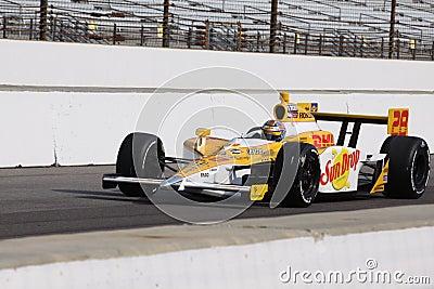 Ryan Hunter-Reay 28 Indianapolis 500 Pole Day 2011 Editorial Photo