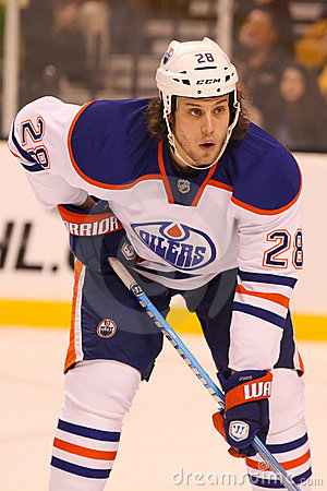 Ryan Jones Edmonton Oilers Editorial Stock Photo