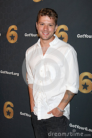 Ryan Phillippe arrives at the Launch of Got Your 6 Editorial Photography