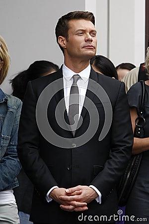 Ryan Seacrest, Simon Fuller Editorial Photo
