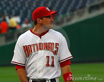 Ryan Zimmerman, Washington Nationals Editorial Stock Image