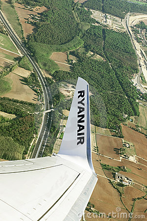 Ryanair Editorial Photo