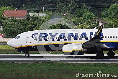 Ryanair Editorial Image