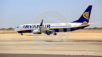 Ryanair Boeing B737 Editorial Photography