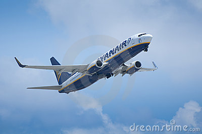Ryanair Take Off Editorial Image